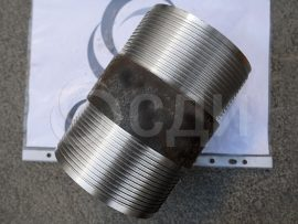 Ниппель D=73 мм для обсадной трубы