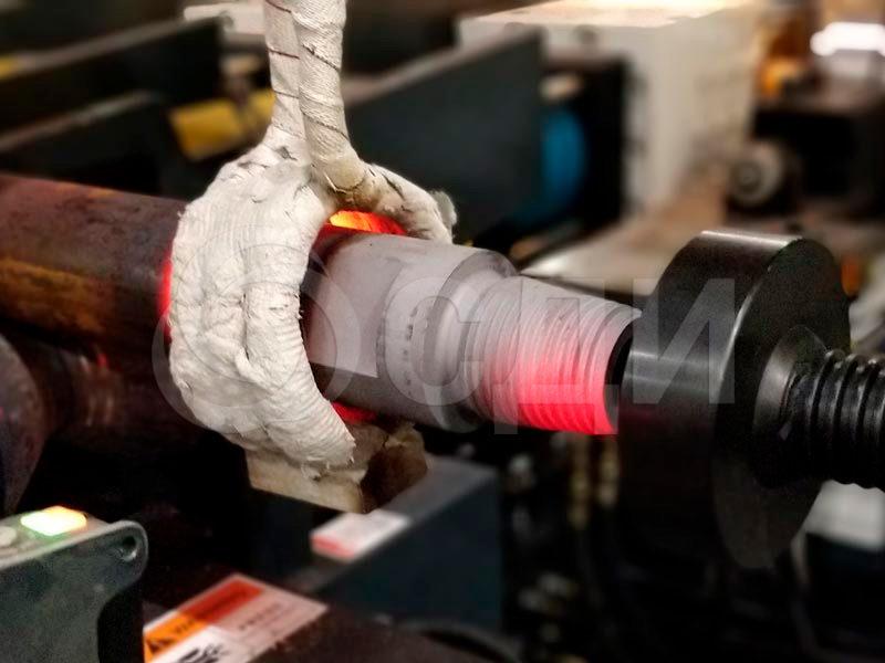 Термообработка сварного соединения