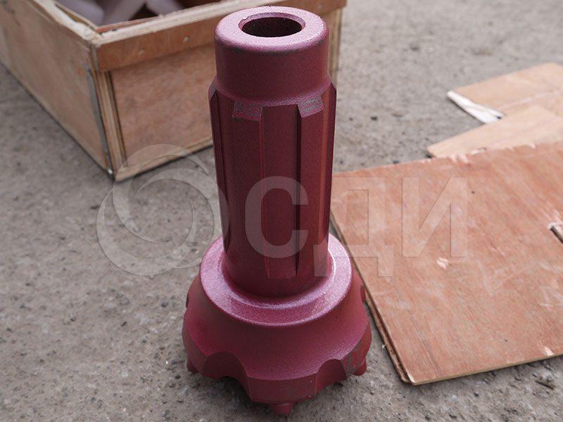 Пневмоударная коронка cir-90, шлицевое соединение