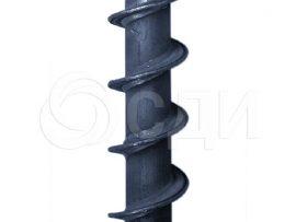 Шнек буровой 108 мм, 1,5 м.